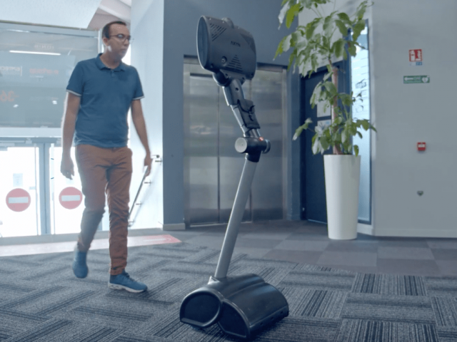 Robot en téléprésence