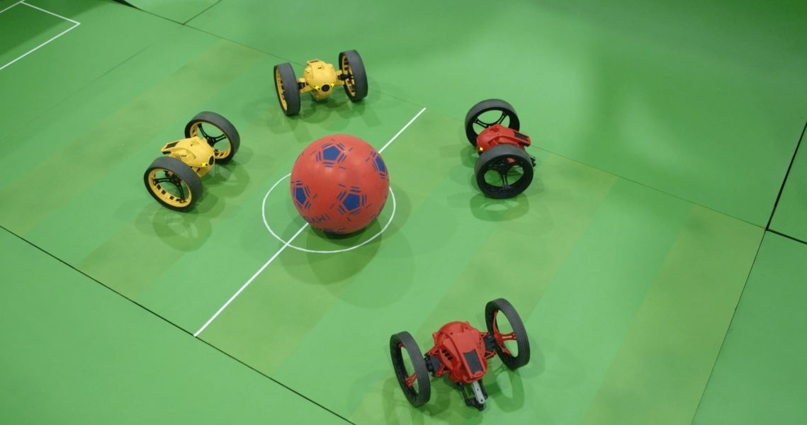 Match de foot robotisé 2.0